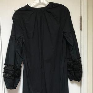 Who What Wear Dresses Blk Cotton Dress W Openwork